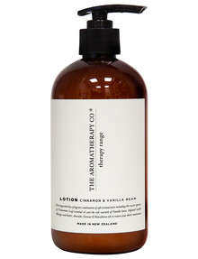 The Aromatherapy Co. Therapy Hand and Body Lotion, Cinnamon & Vanilla Bean, 500ml product photo