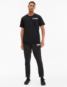 Puma Collective Triblend Tee, Black product photo