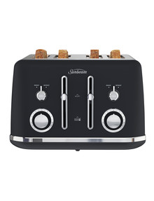 Sunbeam Alinea 4 Slice Toaster, Black, TA2740K product photo