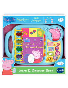 Vtech Peppa Pig Learn & Discover Book product photo