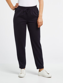 Ella J Super-Soft Trackpant, Navy product photo
