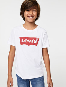 Levis Batwing Tee, White product photo
