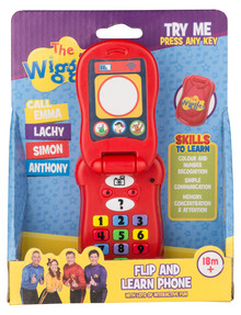 The Wiggles Flip & Learn Phone product photo