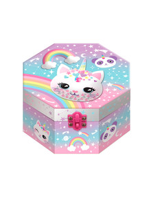 Hot Focus Musical Jewelry Box with Figurine product photo