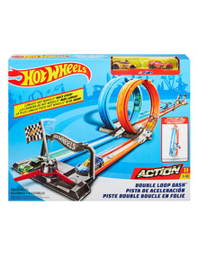 Hot Wheels Action Dual Loop Dash product photo