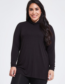 Bodycode Curve Long Sleeve Skivvy, Black product photo