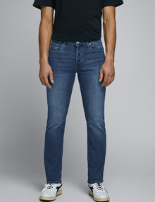 Jack & Jones Glenn Original AM 814 Skinny Fit Jeans, Blue product photo