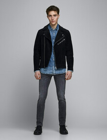 Jack & Jones Glenn Slim-Fit Jean 817, Grey product photo