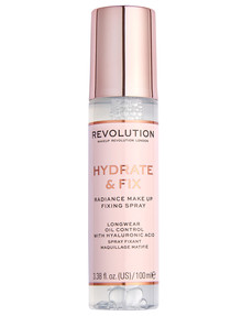 Makeup Revolution Hydrate & Fix Fixing Spray product photo