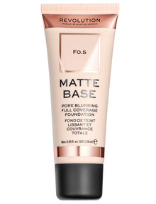 Makeup Revolution Matte Base Foundation product photo