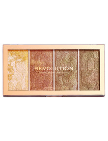 Makeup Revolution Vintage Lace Highlighter Palette product photo
