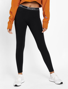 Champion Script Full-Length Tight, Black product photo