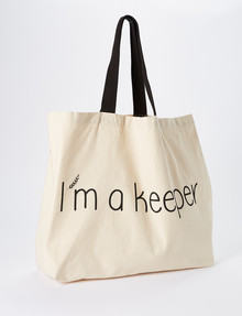 Eco Bag, I'm a Keeper product photo