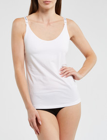 Bonds Bumps Maternity Support Singlet, White product photo