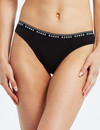 Bonds Organics High-Bikini Brief, Black product photo