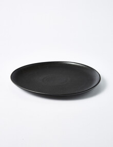 Tilly@home Sole Dinner Plate, 25cm, Black product photo