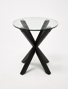 Luca Zuri Side Table, Black product photo