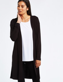 Bodycode Longline Cardi, Black product photo