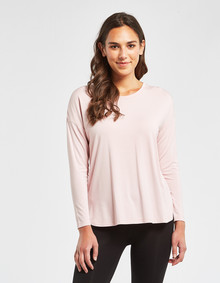 Bodycode Long Sleeve Boxy Tee, Blossom product photo