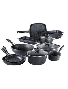 Baccarat Stone 10-Piece Non-Stick Aluminium Cookset product photo