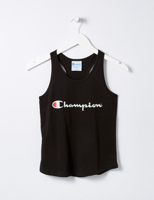 Champion Script Tank Top, Black product photo