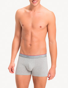 Tommy Hilfiger Stretch Cotton Trunk, 3-Pack, Grey, White & Black product photo