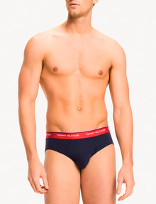 Tommy Hilfiger Cotton Brief, 3-Pack, Navy product photo