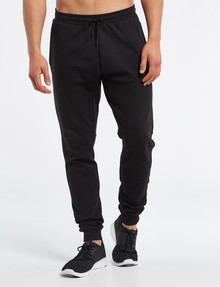 Gym Equipment Panel Trackpant, Black product photo