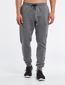 Gym Equipment Panel Trackpant, Grey Marle product photo