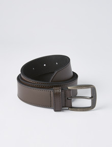 Chisel Texan Leather Belt, Brown product photo