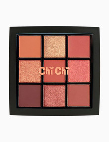 Chi Chi 9 Shade Palette, Warm Browns product photo