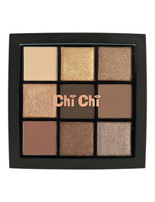 Chi Chi 9 Shade Palette, Cool Browns product photo