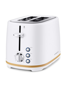 Kambrook Scandi 2 Slice Toaster, White, KTA290MTW product photo