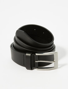 Chisel King Size Leather Belt, Black product photo