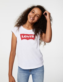 Levis Batwing Graphic Tee, White product photo