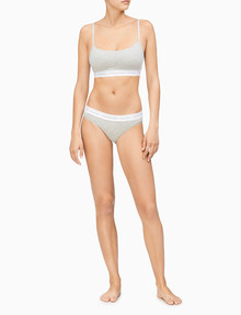 Calvin Klein Cotton Bikini Brief, Grey Heather product photo