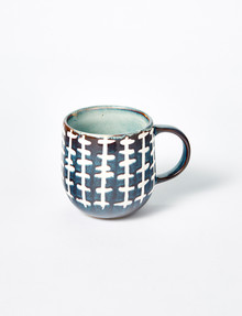 Salt&Pepper Naoko Mug, Linear Storm, 380ml product photo