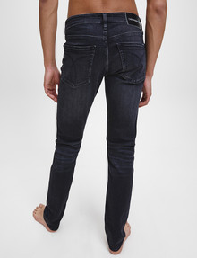 Calvin Klein 026 Slim Jean, Washed Black product photo