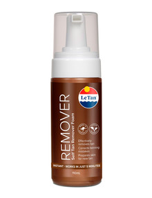 Le Tan Self Tan Remover Mousse, 110ml product photo