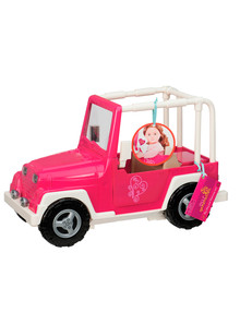 Our Generation 4x4 Car, Pink & White product photo