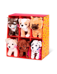 "Our Generation 6"" Plush Standing Pups, Assorted product photo"