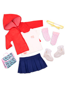 Our Generation Rainy Day School Outfit Set product photo