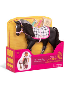Our Generation Black Velvet Foal product photo