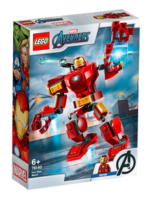 Lego Super Heroes Iron Man Mech, 76140 product photo