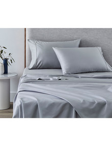 Sheridan 500 Thread Count Tencel Cotton Pillowcase, Pair, Ash Blue product photo