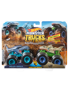 Hot Wheels Monster Truck 1:64 Demolition Doubles 2 Pack, Assorted product photo