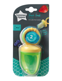 Tommee Tippee Fresh Food Feeder, Yellow & Green product photo