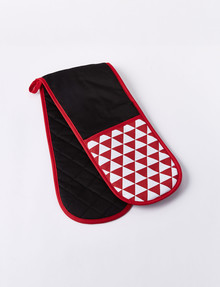 Cinemon Enjoy Double Oven Glove, Red product photo