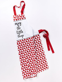 Cinemon Enjoy Apron, Red product photo