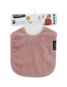 Mum 2 Mum Wonder Bib, Dusky Pink product photo